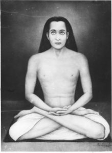 babaji_full_lotus_posture_black_and_white-364x498